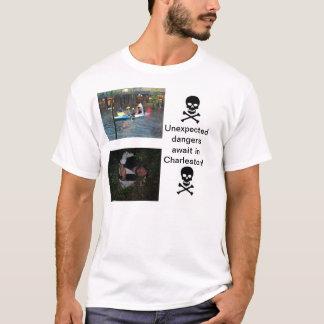 T-shirt Dangers sur Charleston