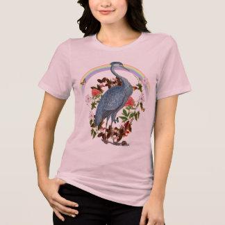 T-shirt d'animal d'esprit de héron