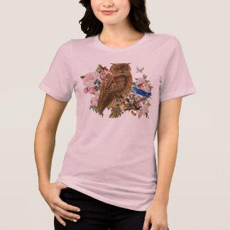 T-shirt d'animal d'esprit de hibou