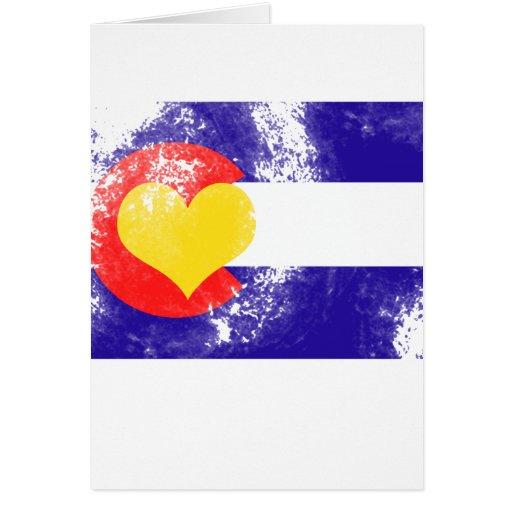 T-shirt d'animal familier du Colorado Cartes De Vœux