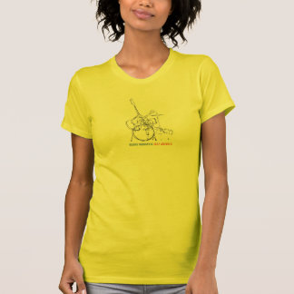 T-shirt d'animaux du jazz des femmes