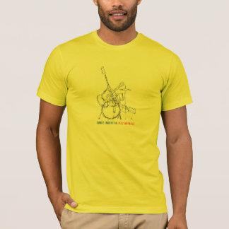 T-shirt d'animaux du jazz des hommes