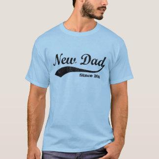 T-shirt d'année personnalisé nouveau par papa