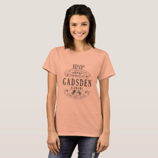 T-shirt d'anniversaire de Gadsden, Alabama 150th