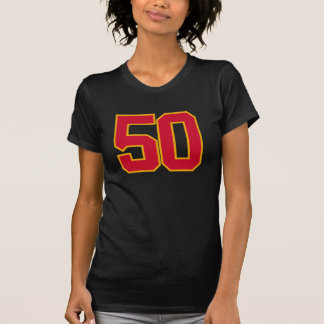 T-shirt d'anniversaire de la FAC #50