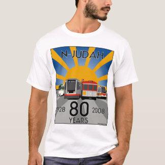 T-shirt d'anniversaire de N Judah quatre-vingtième