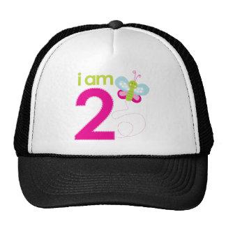 T-shirt d'anniversaire de papillon casquette