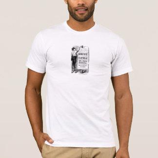 T-shirt d'annonce d'ère de PPZ Regency