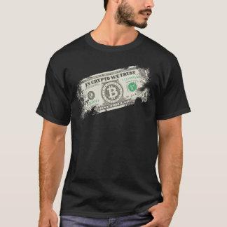 T-shirt Dans crypto nous faisons confiance