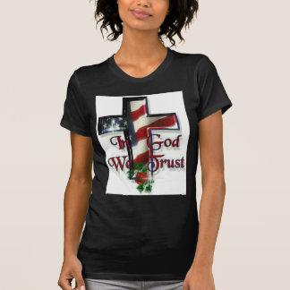 T-shirt Dans Dieu nous faisons confiance