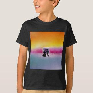 T-shirt Dans la brume