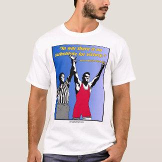 """T-shirt """"Dans la guerre il n'y a aucun substitut pièce en"""
