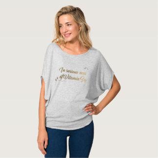 T-shirt Dans le besoin sérieux de la mer de vitamine