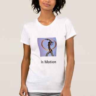 T-shirt Dans le mouvement