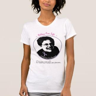 T-shirt Dans le relais de Memoriam pendant la vie