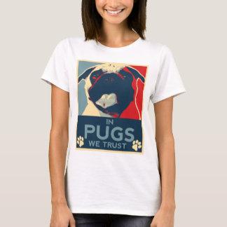 T-shirt Dans les carlins nous faisons confiance à la
