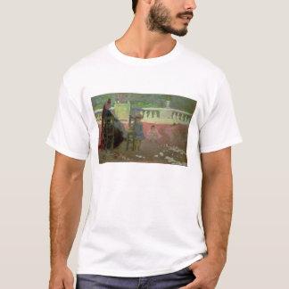 T-shirt Dans les jardins du luxembourgeois