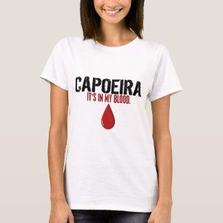 T-shirt Dans mon sang CAPOEIRA
