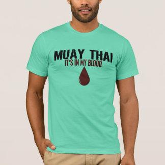 T-shirt Dans mon sang MUAY 1,1 THAÏLANDAIS