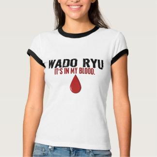 T-shirt Dans mon sang WADO RYU