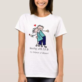T-shirt Danse avec le Cancer ovarien de N.E.D.