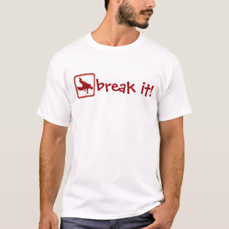 T-shirt Danse de coupure