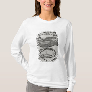 T-shirt Danse de tuyau de paix de l'Iroquois