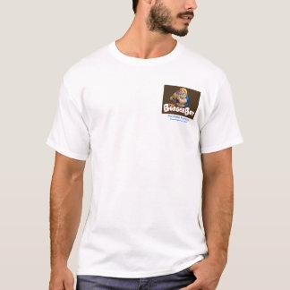 T-shirt Danse du Turkey Trot de garçon d'hamburger