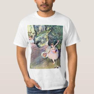 T-shirt Danseur avec un bouquet des fleurs par Edgar Degas