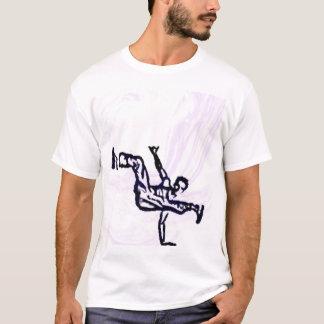 T-shirt Danseur de coupure