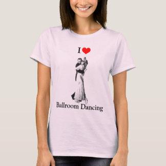 T-shirt Danseur de salle de bal - danse de salon d'amour