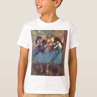 T-shirt Danseurs dans le bleu