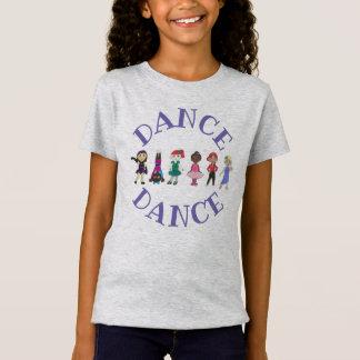 T-Shirt Danseurs lyriques de hip hop d'Acro de jazz de