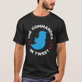 """T-shirt d'Anti-Atout : """"LE COMMANDANT IN TWEET """""""