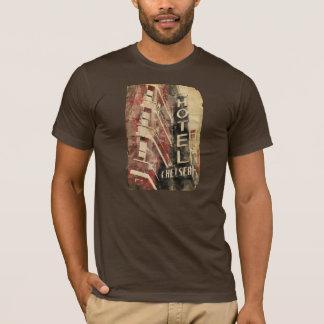 T-shirt d'aquarelle de Chelsea NYC d'hôtel