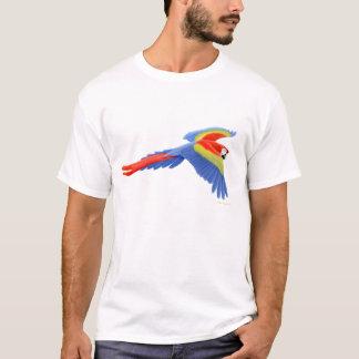 T-shirt d'ara d'écarlate