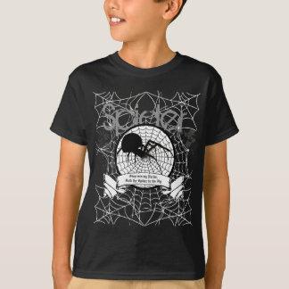 T-shirt d'araignée d'enfants