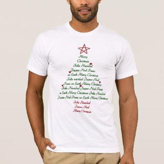 T-shirt d'arbre de Noël