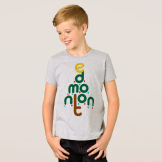 T-shirt d'arbre de Noël d'Edmonton