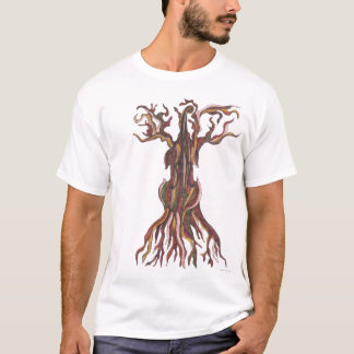 T-shirt d'arbre de violoncelle