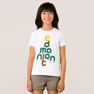 T-shirt d'arbre d'Edmonton de Noël
