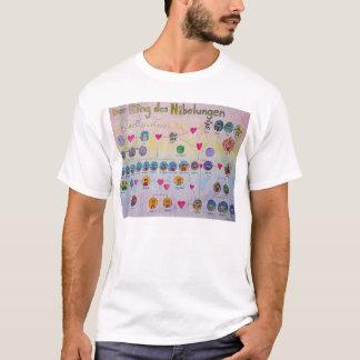T-shirt d'arbre généalogique de DES Nibelungen