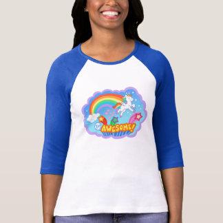 T-shirt d'arc-en-ciel et de licorne