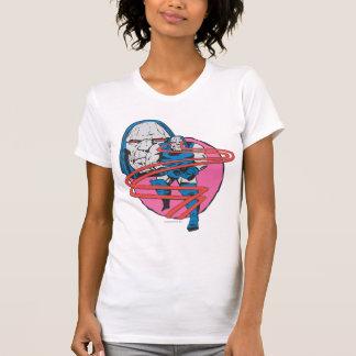 T-shirt Darkseid tire des faisceaux d'Omega
