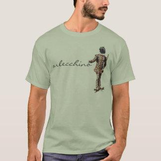 T-shirt d'Arlecchino de dell'Arte de Commedia