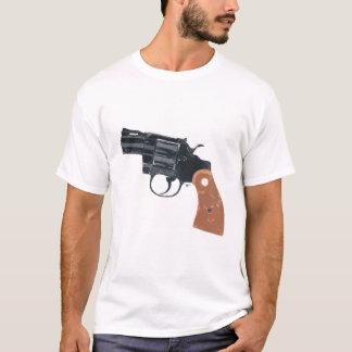 T-shirt d'armes à feu de pistolet de tir d'arme à