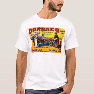T-shirt Darracq - publicité automatique vintage