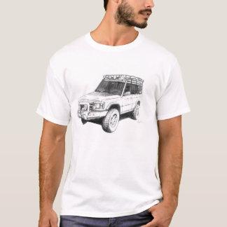 T-shirt d'art de camion de Land Rover