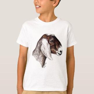 T-shirt d'art de chèvre de Nubian