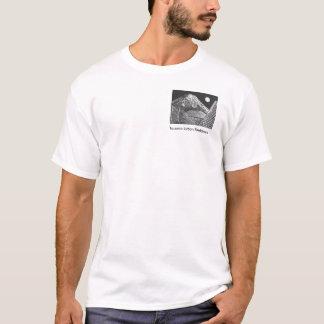 T-shirt d'art de poche